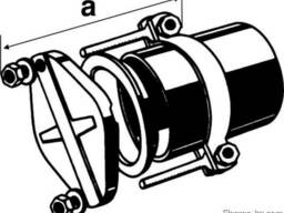 Безраструбная заглушка с прижимными скобами 200 мм FP-Preis