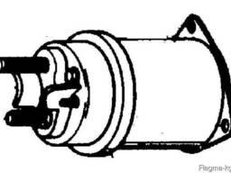 Безраструбная заглушка с прижимными скобами 100 мм S-SML ГОС