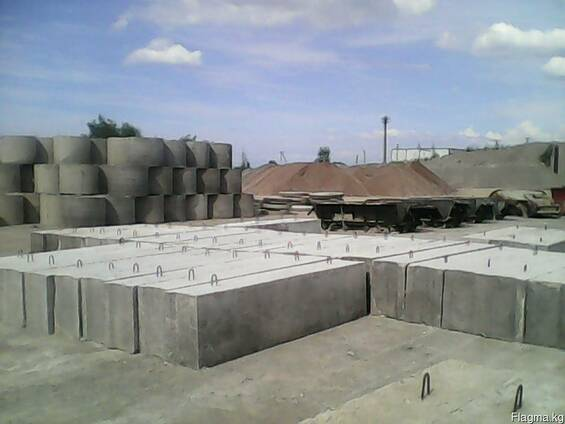 Фундаментные блоки всех размеров (заводские с сертификатом)