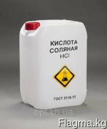 Кислота соляная техническая ГОСТ 857-95, пр-ва Россия