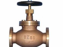 Клапаны (вентили) запорные фланцевые стальные по стандарту A