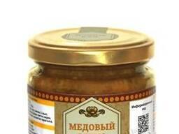 Медово ореховая паста(мед, курага, грецкие орехи)