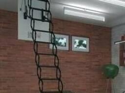 Металлическая лестница LST (70х120х280 см)