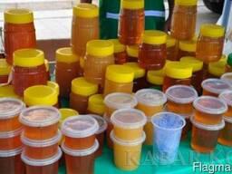 Натуральный горный мёд с собственной пасеки,мед разнотравье