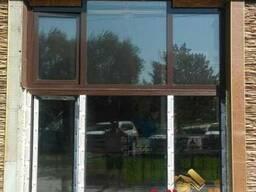 Пластиковые коричневые окна в Бишкеке!