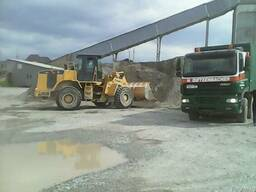 Щебень, песок, бетонная смесь
