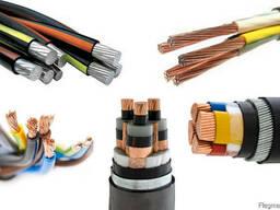 Силовой кабель 1x1.5 мм АВВГ ГОСТ 16442-80