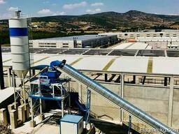 Стационарный бетонный завод S 100 SNG (производство Турция)