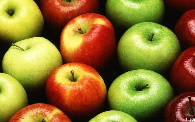 Яблоки из Кыргызстана