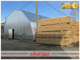 Ангары полигональные для деревообрабатывающей отрасли
