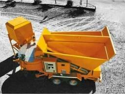 Мобильный бетонный завод Sumab С-15-1200 БСУ РБУ Швеция