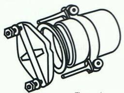 Безраструбная заглушка с прижимными скобами 100 мм ВЧШГ ГОСТ