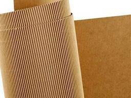 Бумага для гофрирования и картон для плоских слоев