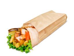 Бумажный пакет без ручек