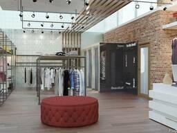 Дизайн интерьера бутиков, магазинов