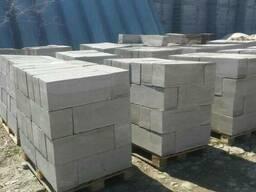 Газобетонные не автоклавные блоки марки D600 (0,6*0,2*0,07)