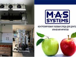 Холодильна камера для хранения фруктов - фруктохранилище