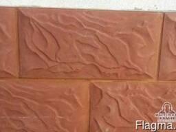 Искусственный камень из бетона для цоколя