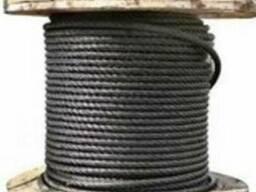 Канат трос стальной ГОСТ 3070-88 двойной свивки