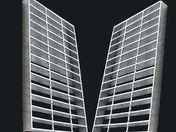Китай металические строительные материалы решетки для пола купить в Бишкеке