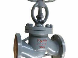 Клапаны (вентили) запорные фланцевые стальные J41H-64 (РУ-64