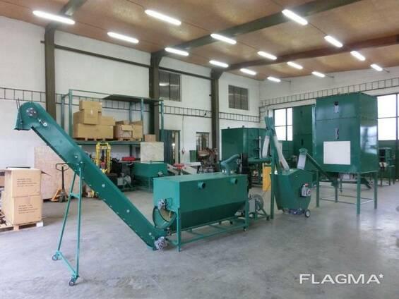 Линии гранулирования древесных отходов MGL 600