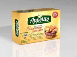 """Маргарин для слоенного теста """"Appetito"""" с м. д. ж. 82% 200гр"""