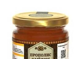 Мед с прополисом/ Propolis with honey