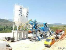 Мобильный бетонный завод М 100 SNG (производство Турция)