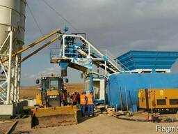 Мобильный бетонный завод М 60 SNG (производство Турция)