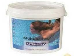 Мультихлор для бассейна. 3в1