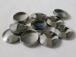 Нержавеющие эллиптические заглушки 48. 3x3 мм AISI 304 DIN 26