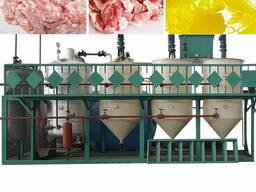 Линия переработки животного жира, сала для кормового жира