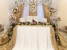 Оформление свадеб в Бишкеке
