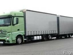 Перевозка грузов из Бишкека в Россию