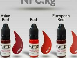 Пигменты NFC для перманентного макияжа.