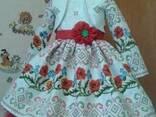 Платья детские и взрослые, ручная работа, хлопок - фото 2