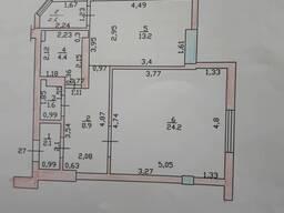 Продаю 1.5 - ком. элитную квартиру - 59 кв. м. 3-эт. из 10