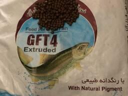 Продаю Иранский экструдированный медленно тонущий корм для малька радужной Форели