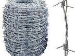 Проволока стальная колючая, гладкая, рифленая, сварочная - photo 1
