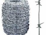 Проволока стальная колючая, гладкая, рифленая, сварочная - photo 2