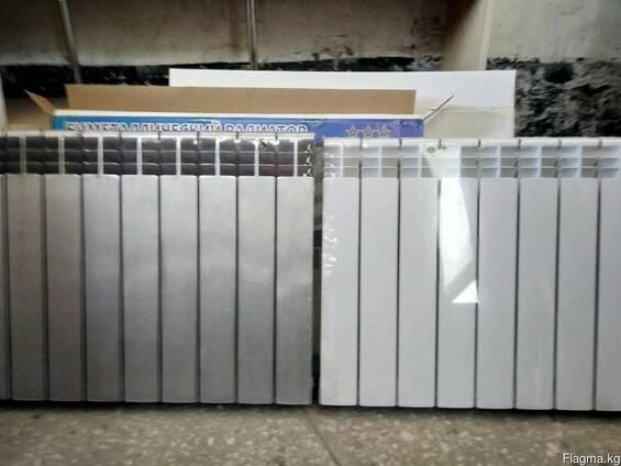 Радиаторы отопительные алюминиевые, биметаллические
