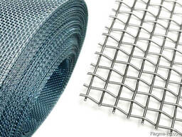 Рифленая нержавеющая сетка 20x20x2 мм 12Х18Н10Т ГОСТ 3826-82