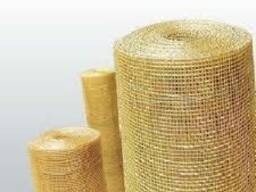 Сетка тканая латунная 0, 5х0, 5х0, 15 мм, ГОСТ 6613-86