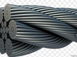 Спиральный стальной трос (канат) 3062-80