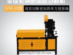 Станок правильно-вытяжной для арматуры Китай GT4-10MM