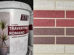 Травертин - Жидкий, Сухой - Эффект натурального камня - KRAF