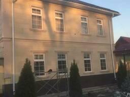 Теплый фасад в Оше - фото 4