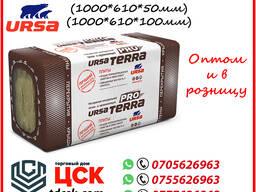 URSA TERRA PRO 34 PN - негорючая минеральная тепло- и звукоизоляция