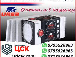 Утеплитель - URSA PUREONE ЭКОАКУСТИК - для тепло, звукоизоляции помещений.